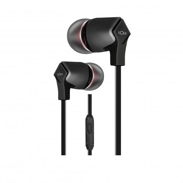 Mark X Wired Earphone-Black-EPM110
