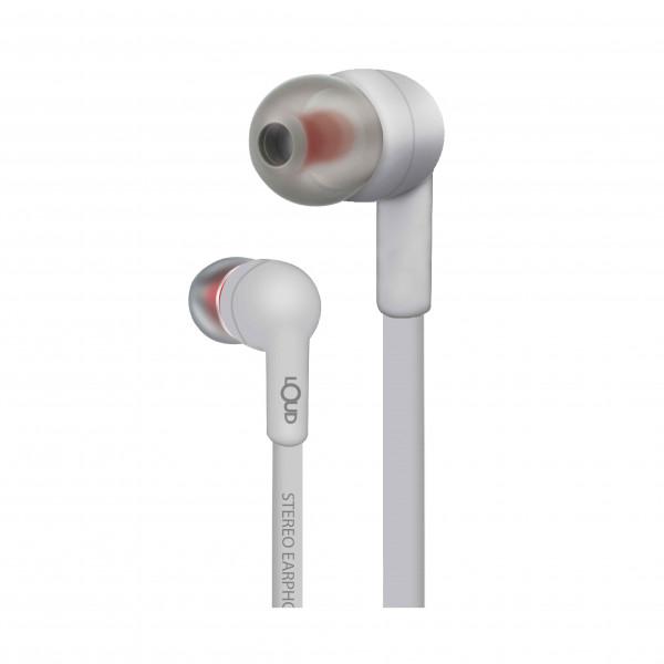 Mark One Wired Earphone-White-EPM120