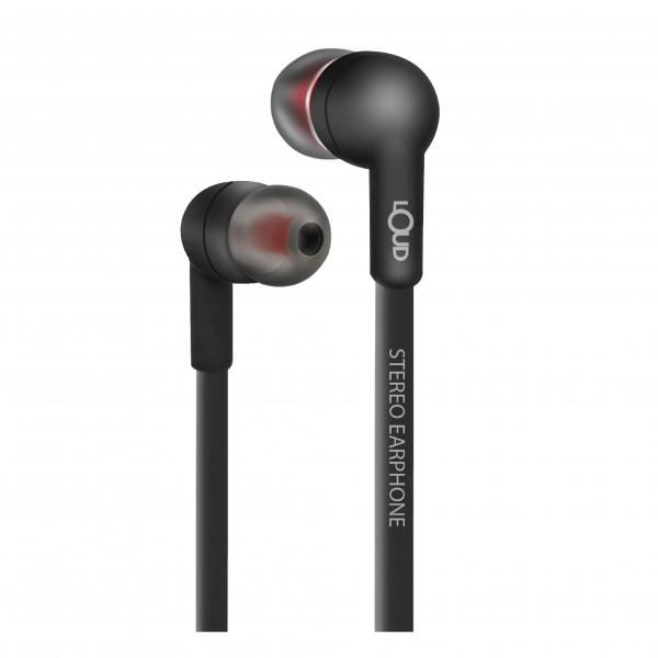 Mark One Wired Earphone-Black-EPM120