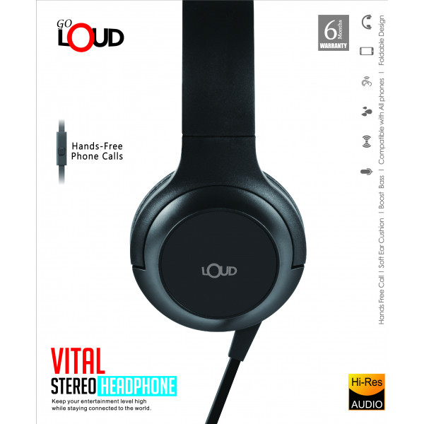 Vital Stereo Headphone